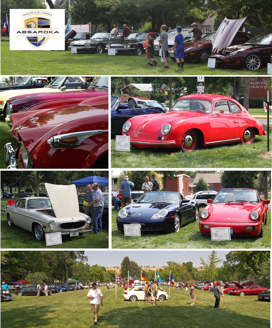 11th All Euro Car Show Saturday August 25 2018 Pca Absaroka Region